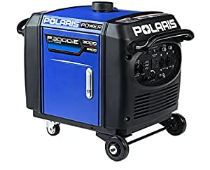 Polaris P13GDGCNA Power P3000iE Portable Gas Powered Digital Inverter Generator, 3000-watt
