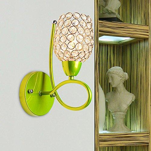 Applique minimaliste salon moderne Crystal Applique mur