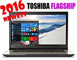 Toshiba 17.3-Inch Laptop (Intel Core i5-5200U, 8GB SDRAM, 1TB HDD, Windows 10 Home), Satin Gold