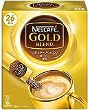 ネスカフェ ゴールドブレンド スティックコーヒー 26P×3箱