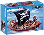 Playmobil 5298 Pirates Ship Skull and...