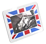 KitVision 7 inch Digital Photo Frame with Built-In Stand Supporting SD/MMC/MS Memory Cards - Union Jack