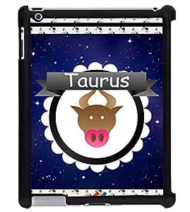 Printvisa 2D Printed Sunsign Taurus Designer back case cover for Apple ipad 3 - D4427