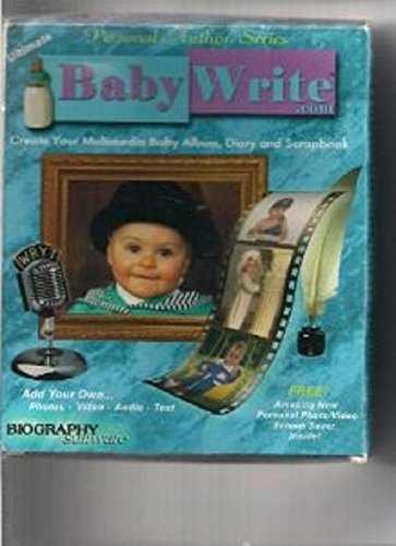 Baby Write : Create Your Multimedia Baby Album, Diary And Scrapbook front-814185