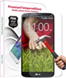 PThink® 0.3mm Ultra-thin Tempered Glass Screen Protector for LG G2 with 9H Hardness/Anti-scratch/Fingerprint resistant (LG G2)
