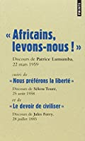 Africains, levons-nous !