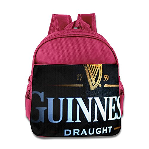 guinness-draught-logo-backpack-school-bag-for-1-6-years-toddler-pink