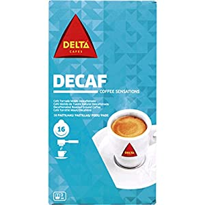 Buy DELTA - DECAF - Single Serving ESE 44mm Pods - 4 x 16 ESE pods (TOTAL = 64 ESE pods) by Delta Cafés - CAMPO MAIOR - PORTUGAL
