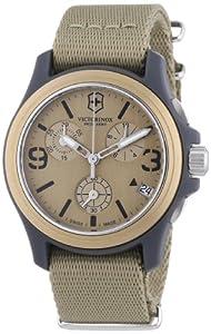 Victorinox Swiss Army Herren-Armbanduhr XL Active Original Chronograph Quarz Textil 241533