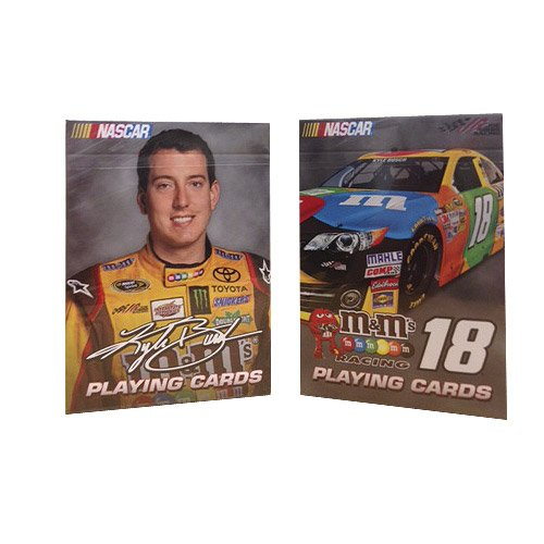 Nascar Playing Cards: Kyle Busch - Set of 2 Decks - 1