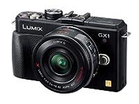 Panasonic デジタル一眼カメラ LUMIX GX1 電動ズームレンズキット エスプリブラック DMC-GX1X-K