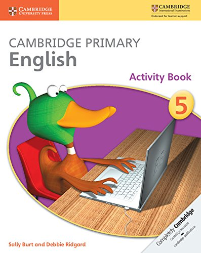 Cambridge Primary English Stage 5 Activity Book (Cambridge International Examinations)