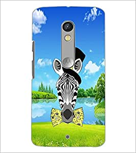 PrintDhaba Funny Image D-4288 Back Case Cover for MOTOROLA MOTO X PLAY (Multi-Coloured)