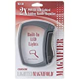 Carson LED Lighted Magnifold 2x Power Magnifier (MJ-50)
