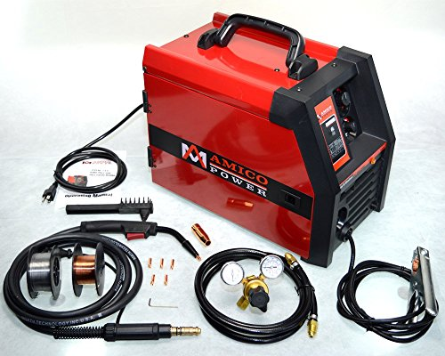 MIG 135 Amp Flux Core Wire Welding Soldering Machine 115V W/Accessories
