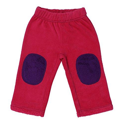 CrayonFlakes Baby Girls 3-6 Months Rabbit Fur Pyjamas/Pants/Leggings (BG15/16-FUR4, Magenta)