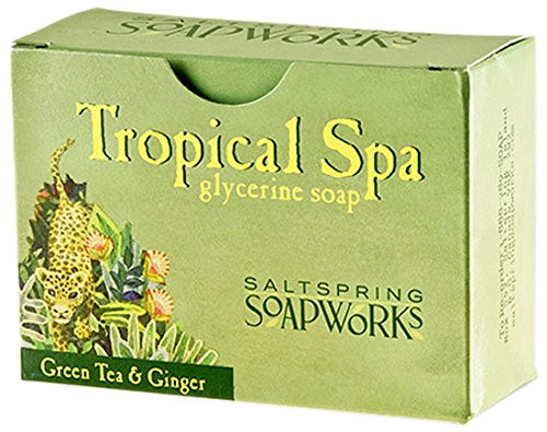 saltspring-soapworks-all-natural-tropical-spa-glycerin-soap-bar-green-tea-5-ounce