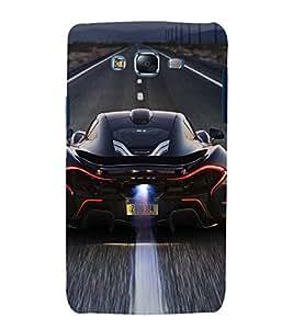 printtech Superfast Car Back Case Cover for Samsung Galaxy A3 / Samsung Galaxy A3 A300F