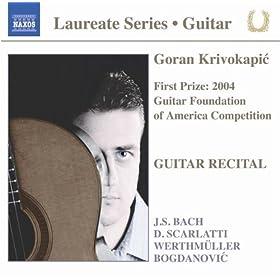 Violin Sonata No. 3 in C major, BWV 1005 (trans. G. Krivokapic): IV. Allegro assai