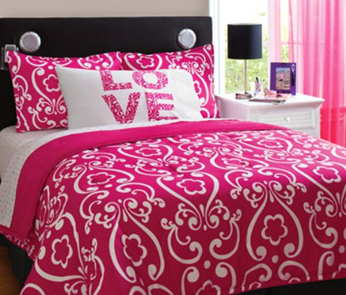 comforters for teenage girls. White Love Teen Girls