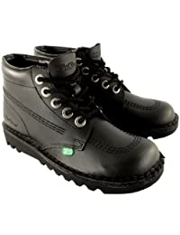Mens Kickers Kick Hi Leather Classic Oxfords Office Work Boots Shoes