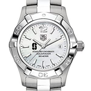 Stanford University TAG Heuer Watch - Ladies Steel Aquaracer Watch with Moter of... by TAG Heuer