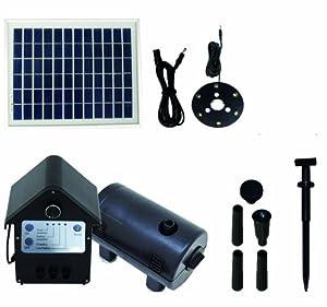 T.I.P SolarTeichpumpe SPS 800/12, Schwarz, 800 l/h  GartenÜberprüfung und Beschreibung