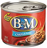 B&M Original Baked Beans, 8 Ounce Cans (Pack of 24)