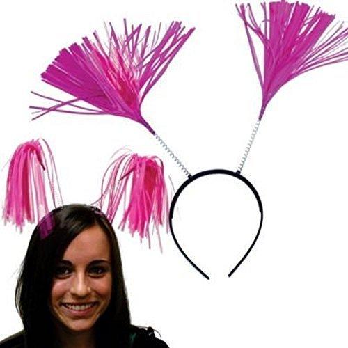 Pink Tinsel Headboppers
