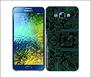 Galaxy Printed 1708 CIRCUIT BOARDS Small pro Hard Cover for samsung A5