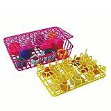 Babiage KleenUp - Cesta para lavavajillas para accesorios infantiles (2 piezas)