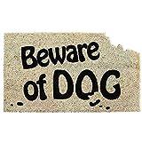 Beware of Dog Coir Fiber Door Mat
