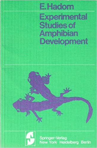 Experimental studies of amphibian development, Hadorn, Ernst