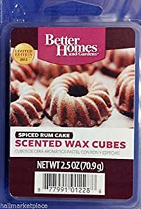 Spiced Rum Cake Wax Cubes