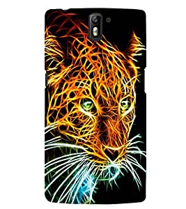 PRINTSWAG LION Designer Back Cover Case for ONE PLUS ONE