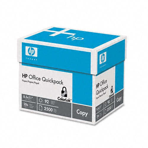 HP Office Quickpack Paper, 92 Brightness, 8.5