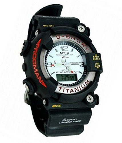 SVM White S SHOCK Dual With Alarm, Stop Watch Features LED Showy Watch For Men, Boys