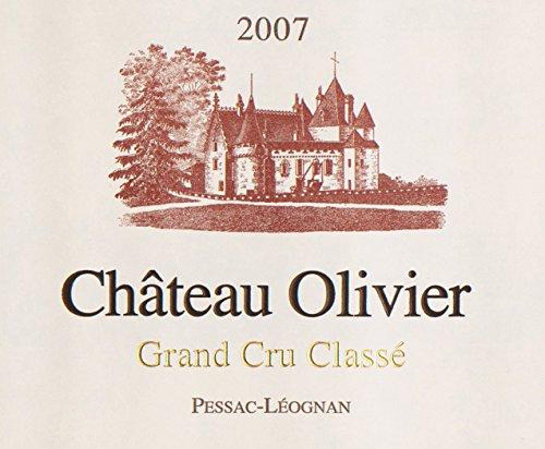 2007 Chateau Olivier Grand Cru Classe Pessac Leognan Bordeaux Rouge 750 Ml