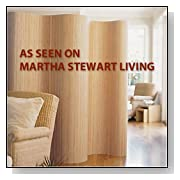 Martha Stewart Partition Screen Room Divider