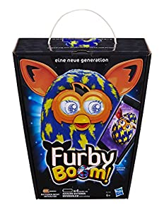 Hasbro A6415100 - Furby Boom Sunny Lightning Bolts, deutsche Version