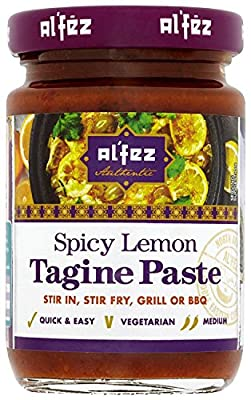 Al'fez Spicy Lemon Tagine Paste 100 g (Pack of 6)