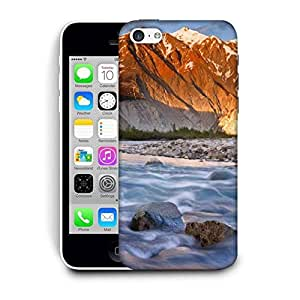 Snoogg Flowing Water Printed Protective Phone Back Case Cover For Apple Iphone 6 / 6S