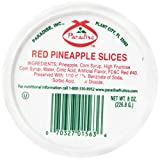 Paradise Red Pineapple Slices, 8 Ounce