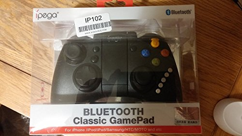 iPega PG-9021 Manette de jeu Bluetooth rechargeable Support télescopique pour smartphone Apple / Android et tablette