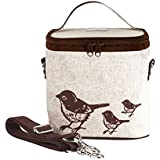 SoYoung Brown Birds Small Cooler Bag
