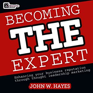 Becoming THE Expert Audiobook