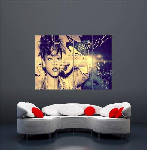 【音楽】リアーナ ダイアモンド R&B アートプリントポスター  RIHANNA DIAMONDS R AND B MUSIC . OZ571