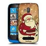 Head Case Designs Santa Claus Christmas Classics Protective Snap-on Hard Back Case Cover for Nokia Lumia 610