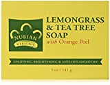 Nubian Heritage Soap Bar, Lemongrass and Tea Tree, 5 Ounce