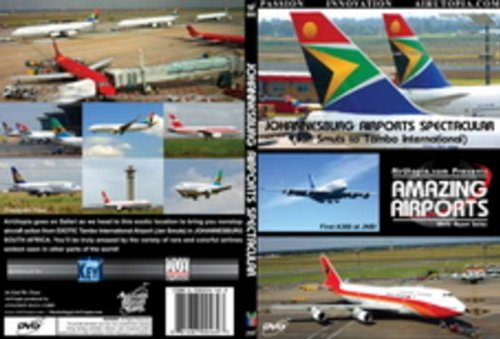 Johannesburg Airports Spectacular Dvd (89 MINUTES)